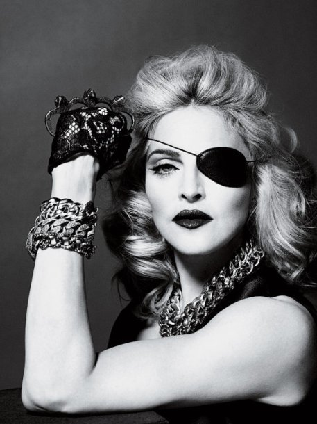 Madonna Illuminati Eye, Madonna one eye, madonna eye of horus